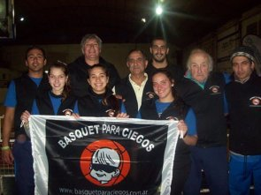 Se realizó con exito el 1er. Campus de Básquet para Ciegos en Paraná