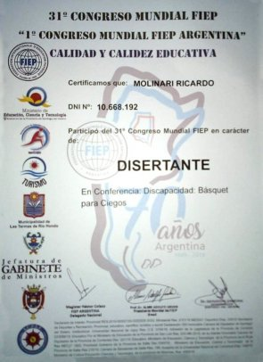 BpC participó del 31º Congreso Internacional de Educación Física en Termas de Río Hondo